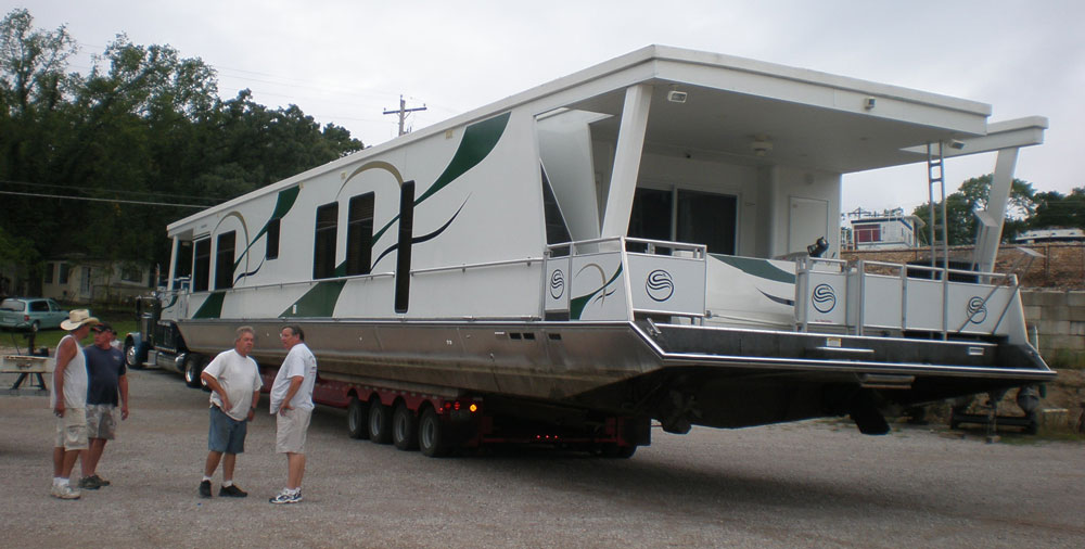 Over the Road Yacht Movers